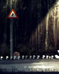 Chạy qua rừng mau lên | Truyện Ngắn | Thị Trấn Buồn Tênh