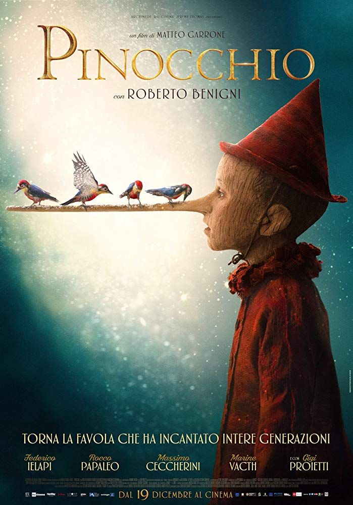 Review Pinocchio 2019